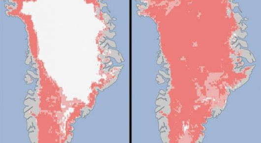 Groenlandia se derrite de repente