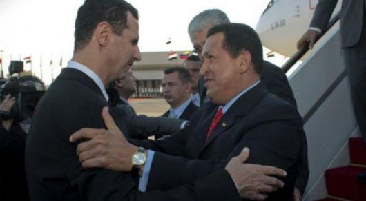 Venezuela y Cuba van a Teherán a apoyar a Siria
