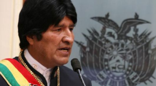 "Evo Morales, ""Primer Cacique General"""