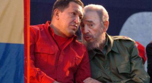 Chávez usa a Castro para desviar la agenda