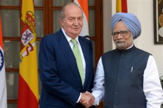 El Rey de España dice que su país da ganas de llorar