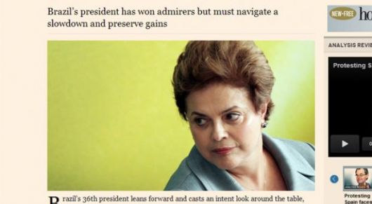 Dilma contra The Economist, en defensa de Mantega