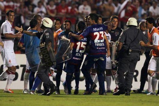 Escandalo en el partido de Tigre San Pablo