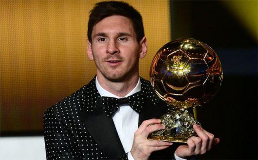 Messi ganó su cuarto Balón de Oro consecutivo y hace historia