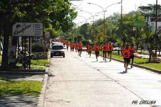 Maratón de 10 y 5 km en Monte Caseros