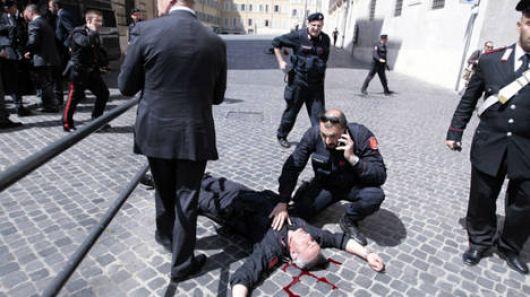 Atentado en Italia mientras juraban los ministros del nuevo gobierno