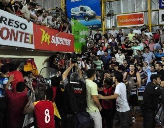 La batalla campal en San Martín