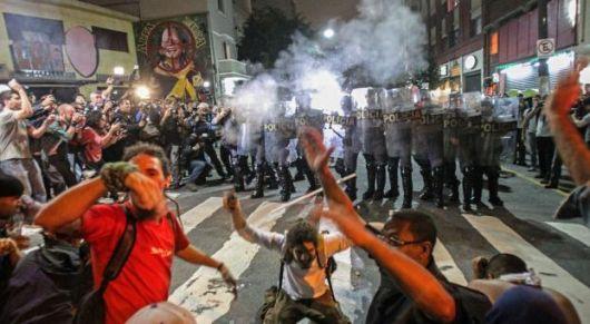 Palos, gases y piedras en Brasil Un enfoque nacionalista