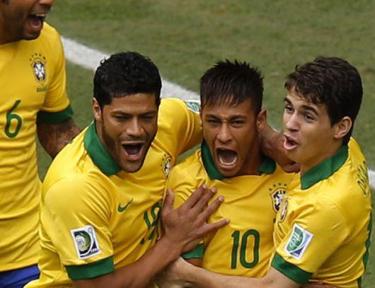 Brasil, finalista en la Copa Confederaciones