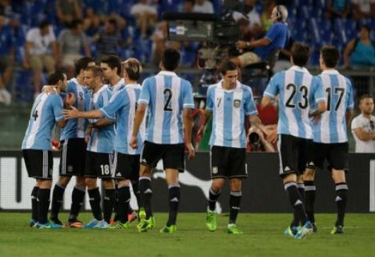 Argentina le ganó a Italia