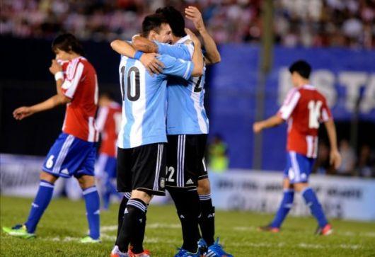 Argentina, con goleada al Mundial