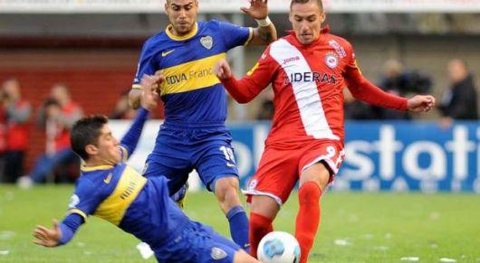Boca empató con Argentinos