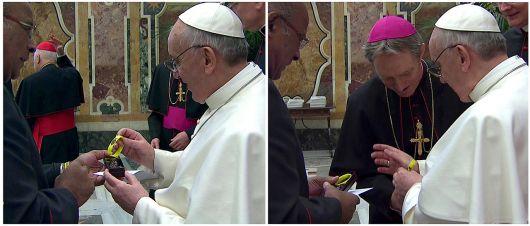 """El papa llamó a la Iglesia a """"despojarse de toda mundanidad"""""""