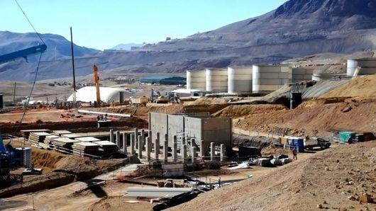 Sindicalistas tomaron la explotación minera que la Barrick Gold