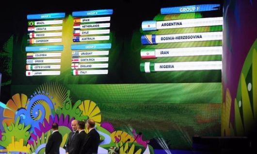 Brasil 2014: Argentina irá al Grupo F