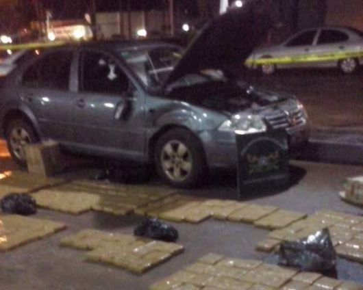 Policías se salvaron de no morir chocados por un narco en fuga