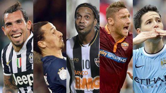 Los 5 cracks que se quedaron sin Mundial