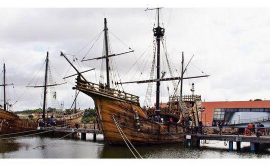 Hallaron una de las carabelas de Colón