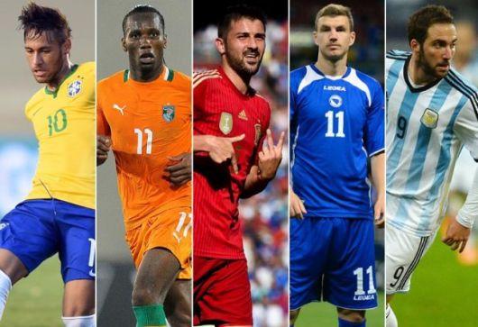 Los goleadores más efectivos del Mundial de Brasil