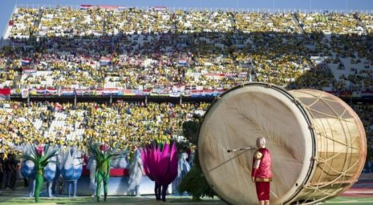 El Mundial de Brasil se puso en marcha