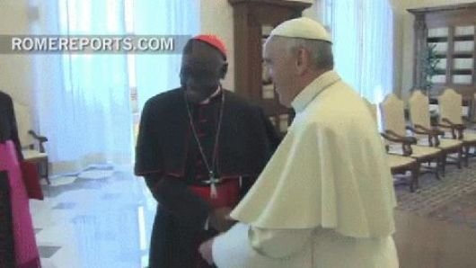 Broma del Papa a un arzobispo brasileño
