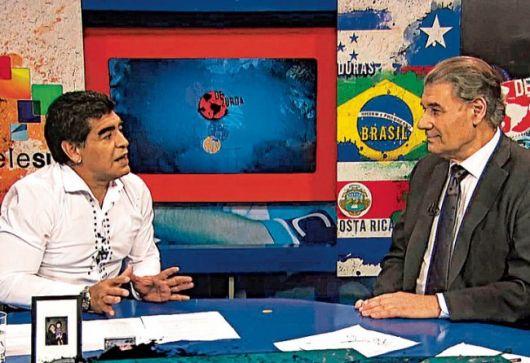 """Diego Maradona acusó de """"perverso"""" a Grondona"""