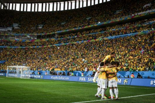 Brasil se aseguró la punta del Grupo A