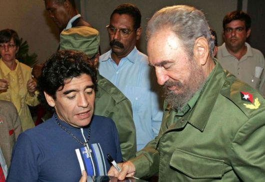 La carta de Fidel que conmovió a Maradona