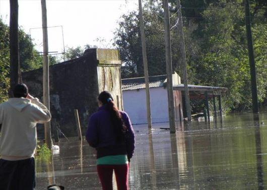 El Uruguay obligó a 742 personas dejar sus hogares