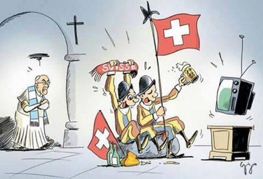 Francisco vs. La Guardia Suiza