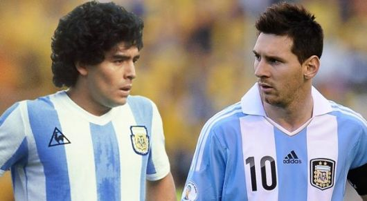 Doble desafío: Argentina vs. Suiza y Messi vs. Maradona