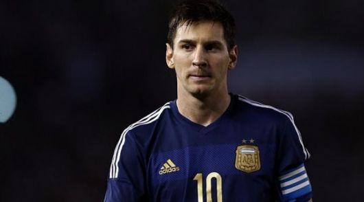 "Conmovedor mensaje de Messi para ""Tití"" Fernández"