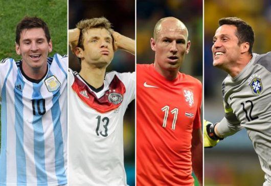 Los semifinalistas del Mundial bajo la lupa