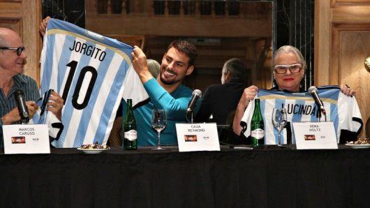 Protagonistas de Av. Brasil hinchan por Argentina