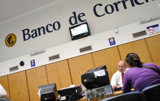 Atención reducida en el Banco de Corrientes