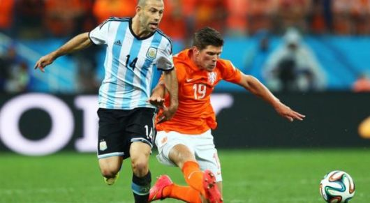 Con un gigantesco Mascherano, Argentina jugará la final ante Alemania