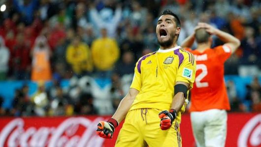 Romero fue el héroe en los penales: Argentina, a la final