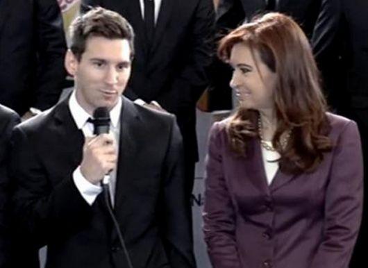 """Cristina Kirchner recibió """"orgullosa"""" a la selección argentina"""