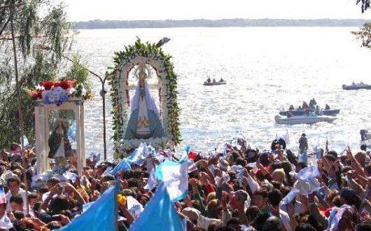 Itatí: Programa de actividades por el Día de la Virgen morena