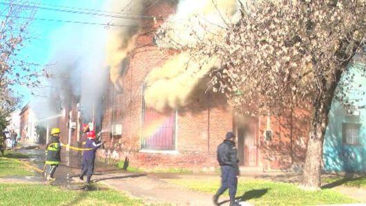 Cuatro incendios en el interior de la provincia