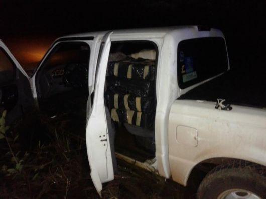 Corrientes: Detuvieron a dos personas con más de 600 kilos de marihuana