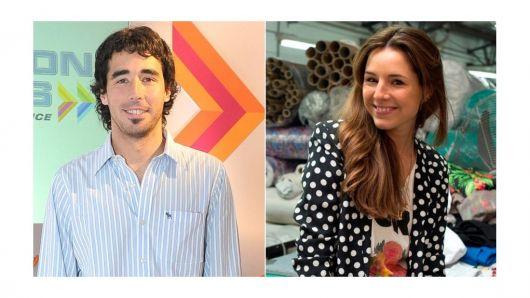 Nacho Viale, de novio con Candelaria Tinelli