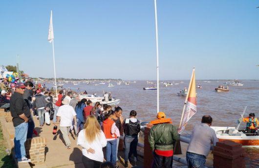 La Fiesta del Dorado juntó 1.500 pescadores