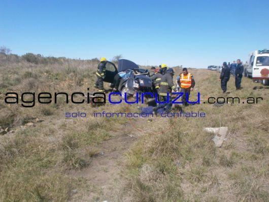 Mueren tres funcionarias nacionales en terrible accidente cerca de Curuzú Cuatiá
