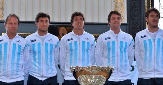 Mayer el primer singlista de Copa Davis