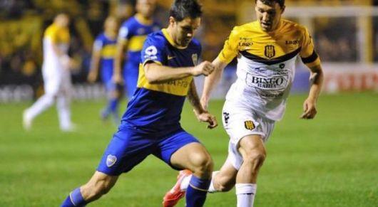 Apareció Gigliotti y Boca le ganó a Olimpo 0-1