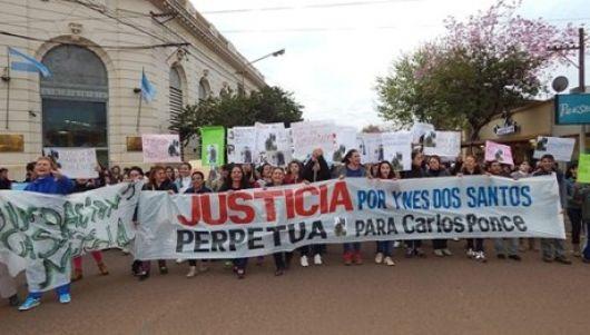 Marchó para pedir por justicia tras caso de femicidio