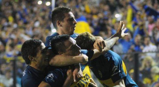 Boca goleó a Central, ganó confianza y está en los 8vos de la Sudamericana
