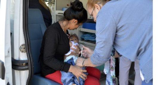 Avanza la vacunación contra el sarampión y la polio