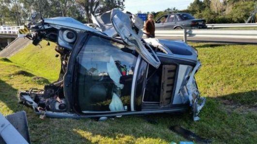 Julio Bocca se accidentó en Uruguay